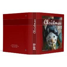Christmas - Snowman Binder