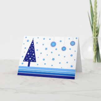 Christmas tree - Card card