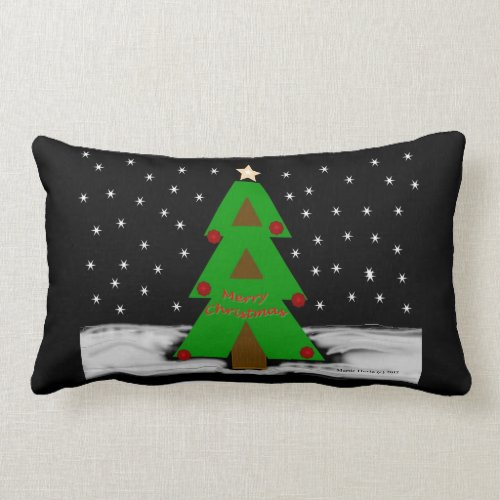 Christmas Tree Night - MoJo Pillows