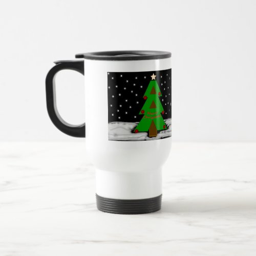 Christmas Tree Night Mug