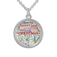 Christmas Word-Art - Necklace