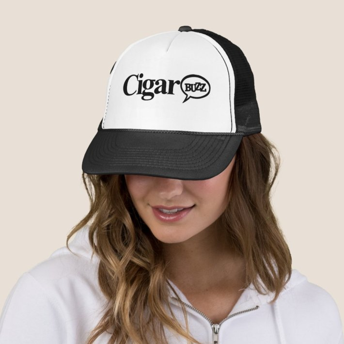 Cigar Buzz Trucker Hat