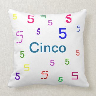 Cinco Pillow - Decorative Accent Throw Pillow 3 mojo_throwpillow