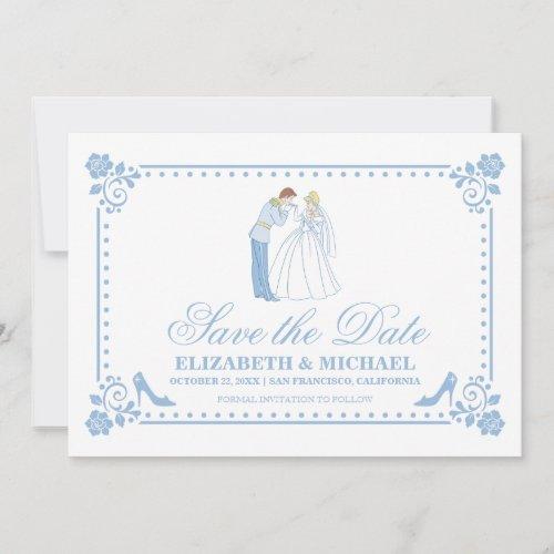 Cinderella Wedding | Classic Save the Date