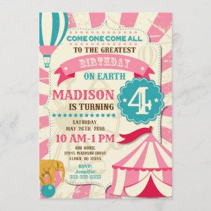 https www zazzle com circus birthday invitations