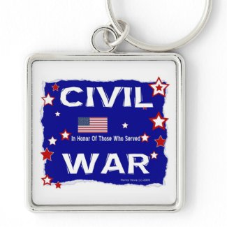 Civil War - In Honor Key Chain