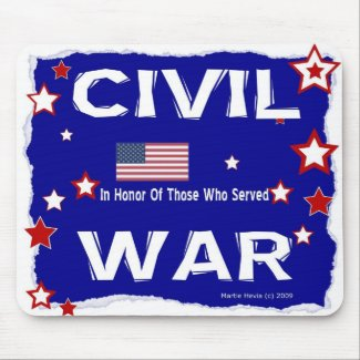 Civil War - In Honor - Mousepad