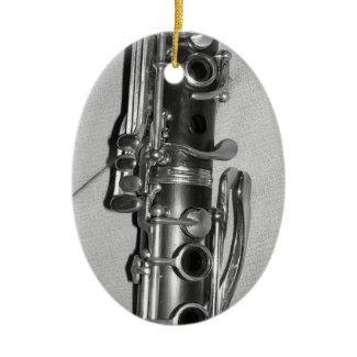 Clarinet Ornament ornament