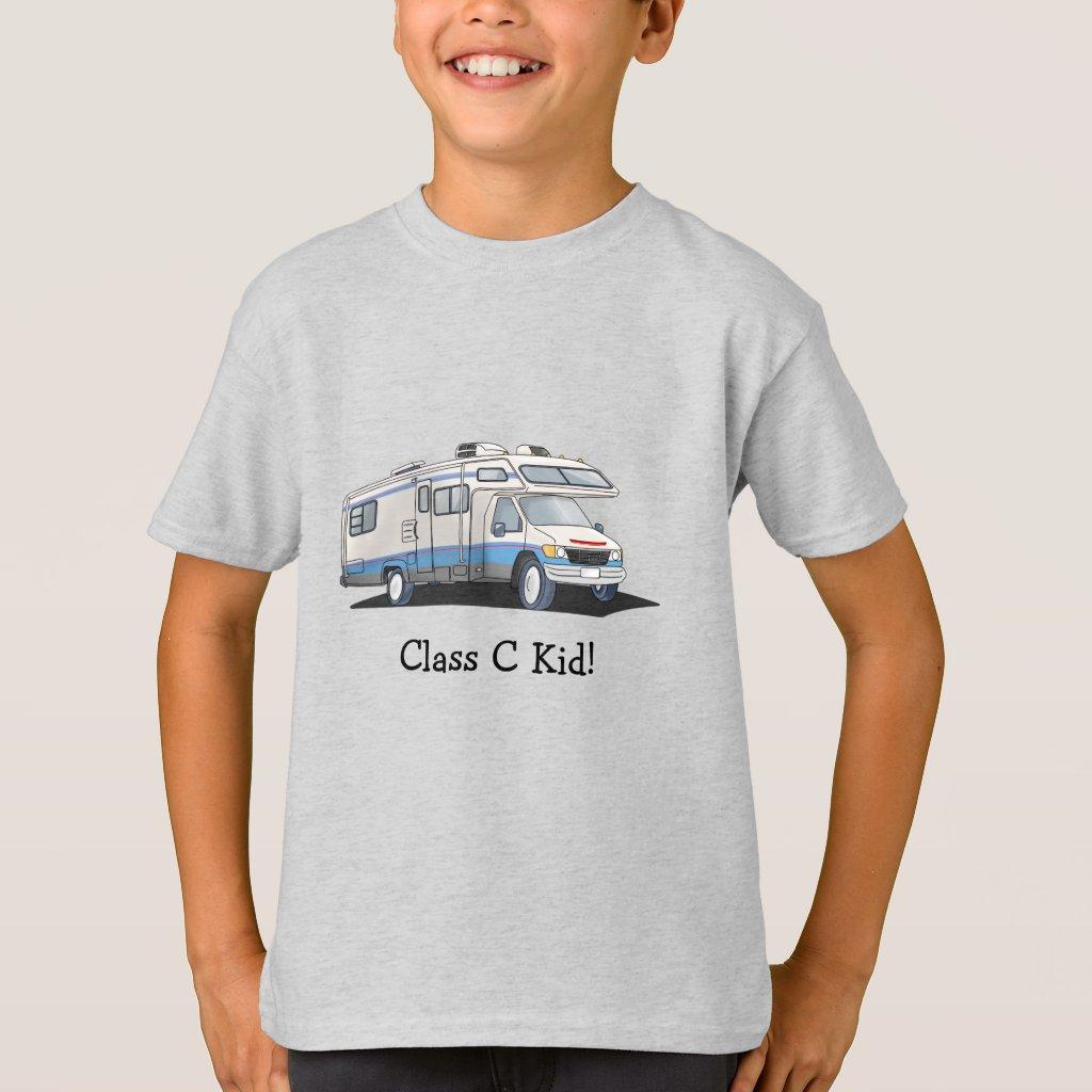 Class C Motorhome Kid's T-Shirt