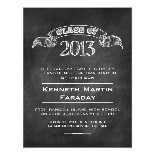 Simple Graduation Announcements