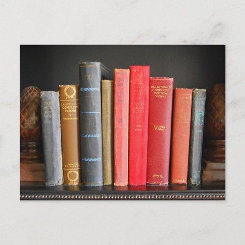 Classic Books postcard