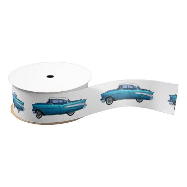 Classic car 1957 Chevy BelAire Grosgrain Ribbon