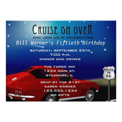 Fall Birthday Invitations