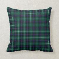 Classic MacDonald of the Isles Tartan Throw Pillow