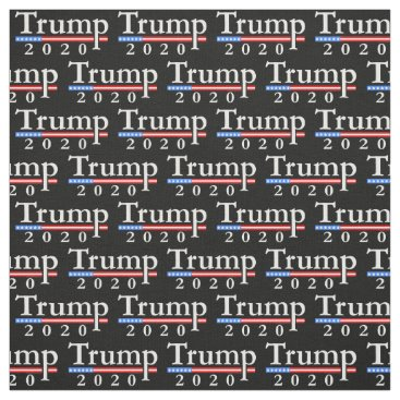 Classic Trump 2020 Pattern Fabric