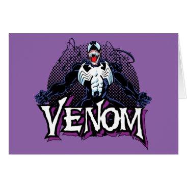 Classic Venom Yell Character Art Card