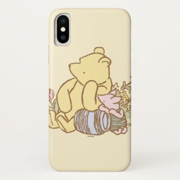 Classic Winnie the Pooh and Piglet 1 iPhone X Case