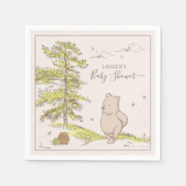 Classic Winnie the Pooh | Baby Shower Napkins