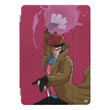 Classic X-Men | Gambit Throwing Playing Cards iPad Pro Cover