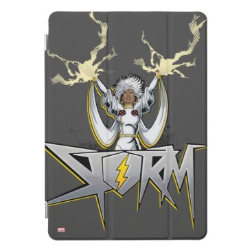 Classic X-Men | Storm Lightning Name Badge iPad Pro Cover
