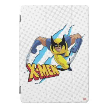 Classic X-Men | Wolverine Slash Pattern iPad Pro Cover