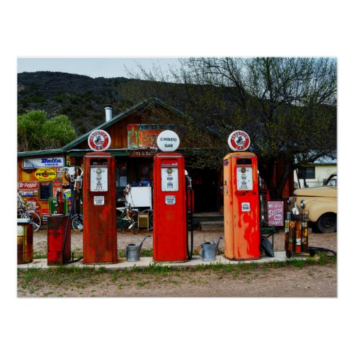 Classical Gas Museum, New Mexico Print