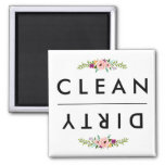CLEAN / DIRTY Dishwasher Magnet