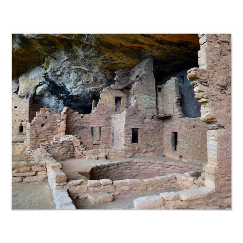 Cliff Palace, Mesa Verde National Park, Colorado Poster