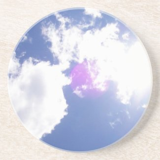 Clouds with Orb Coaster coaster