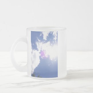 Clouds with Orb Mug mug