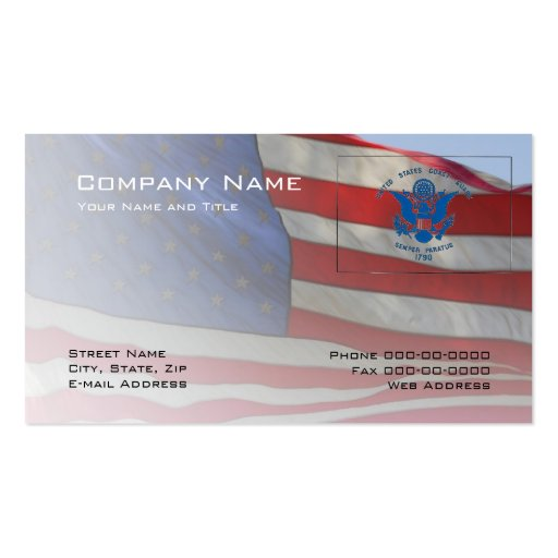 Coast Guard Business Card Zazzle