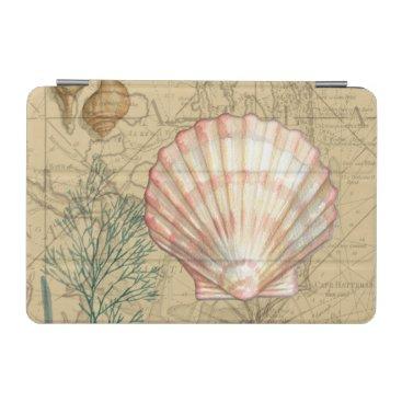 Coastal Map Collage iPad Mini Cover