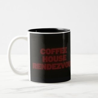 Coffee House Rendezvous coffee mug