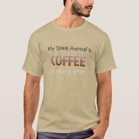 Coffee Is My Spirit Animal Men's Shirt