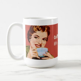 Coffee keeps me busy until it's time to be drunk mug