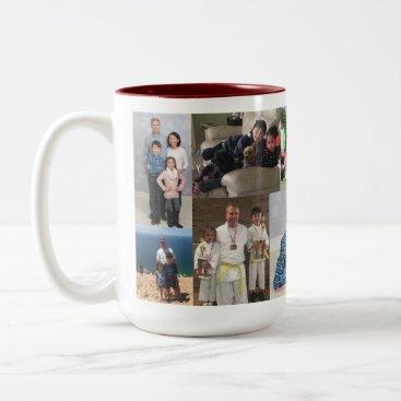 Collage 10 Photo Dad - Mug