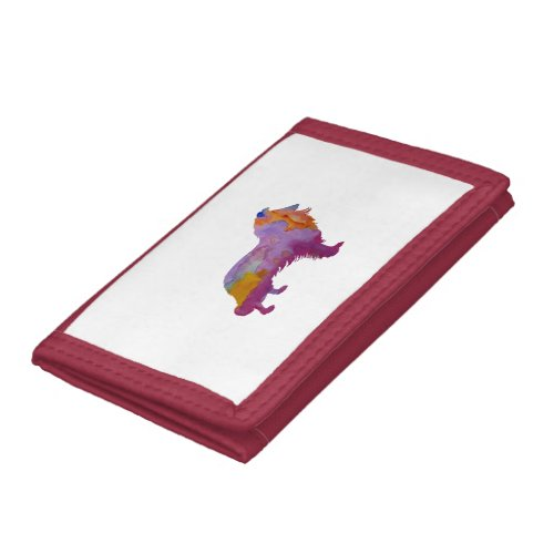 Collie Tri-fold Wallet