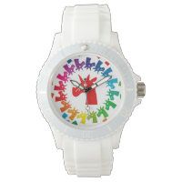 Color Me Rainbow Unicorn Watch