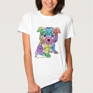 Colored Collie Puppy T-Shirt