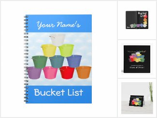 Colorful Bucket List