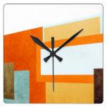 Compose Square Wall Clock