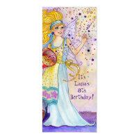 Confetti Fairy Birthday Party invite