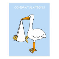 Congratulations, new pet cat/fur baby. postcard