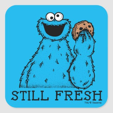 Cookie Monster | Still Fresh Square Sticker