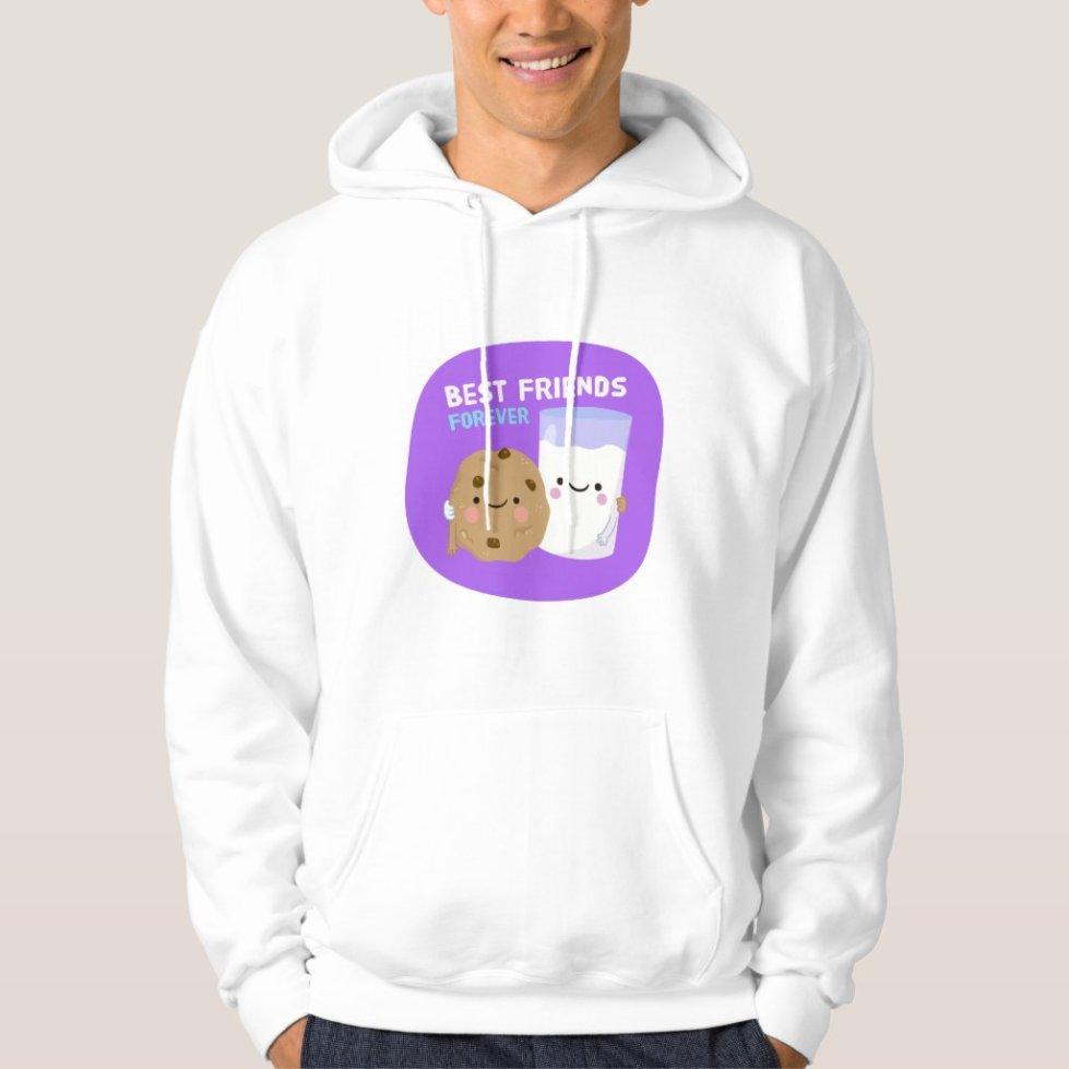 Cookies and Milk Best Friend Hoodie