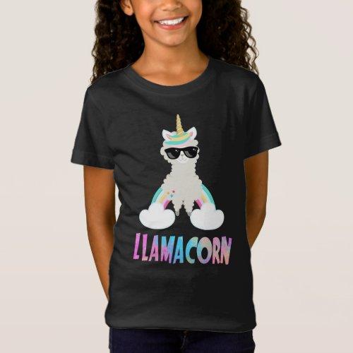 Cool Cute Llamacorn Unicorn Llama T-Shirt
