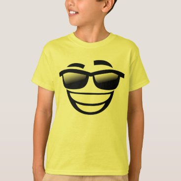 Cool guy emoji T-Shirt