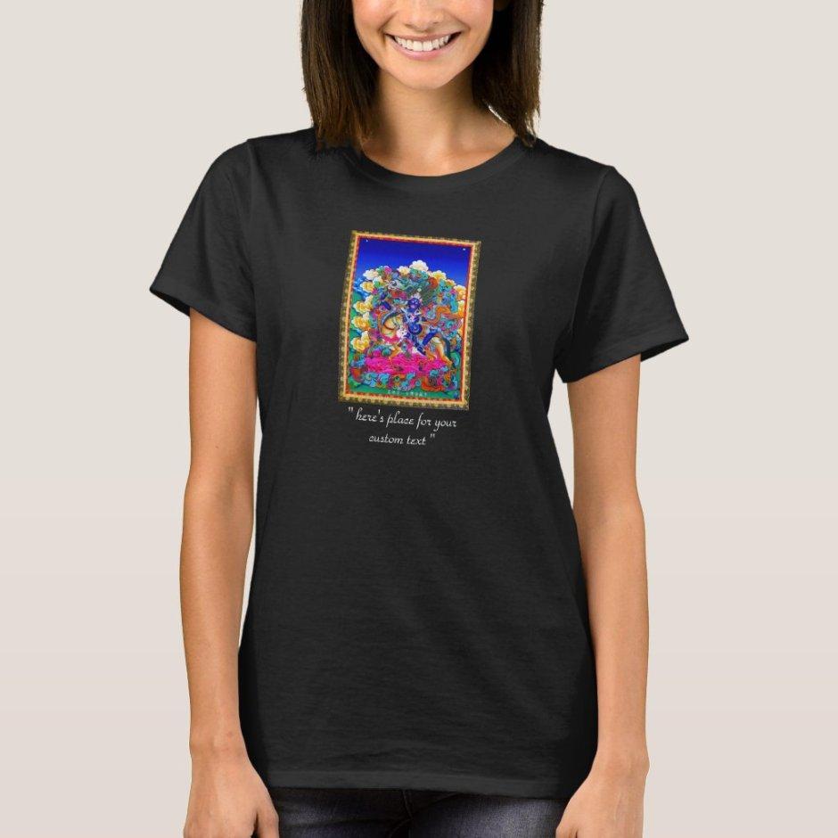 Cool oriental tibetan thangka tattoo Palden Lhamo T-Shirt