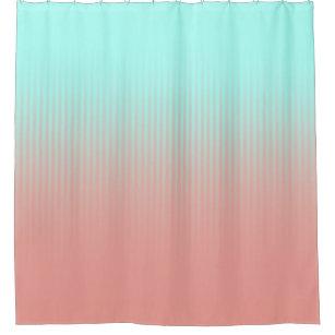 blue coral shower curtains zazzle