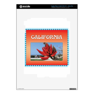 Coral Tree in California iPad 3 Skin